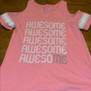 Awesome Cold Shoulder Tee